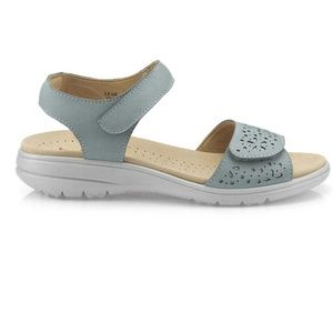 Hotter Leah Sandals Aqua sz 7.5